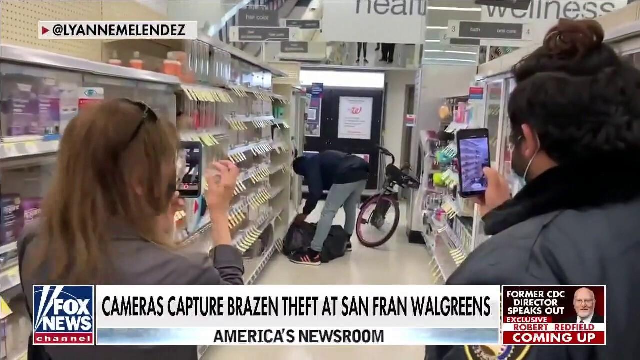 Shocking footage captures brazen theft at San Francisco Walgreens