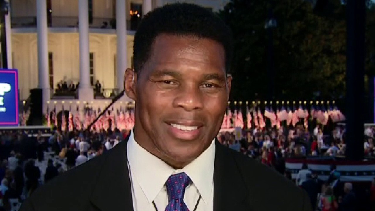 Herschel Walker on protests by pro athletes: We can't solve anything with a closed fist, we need an open hand