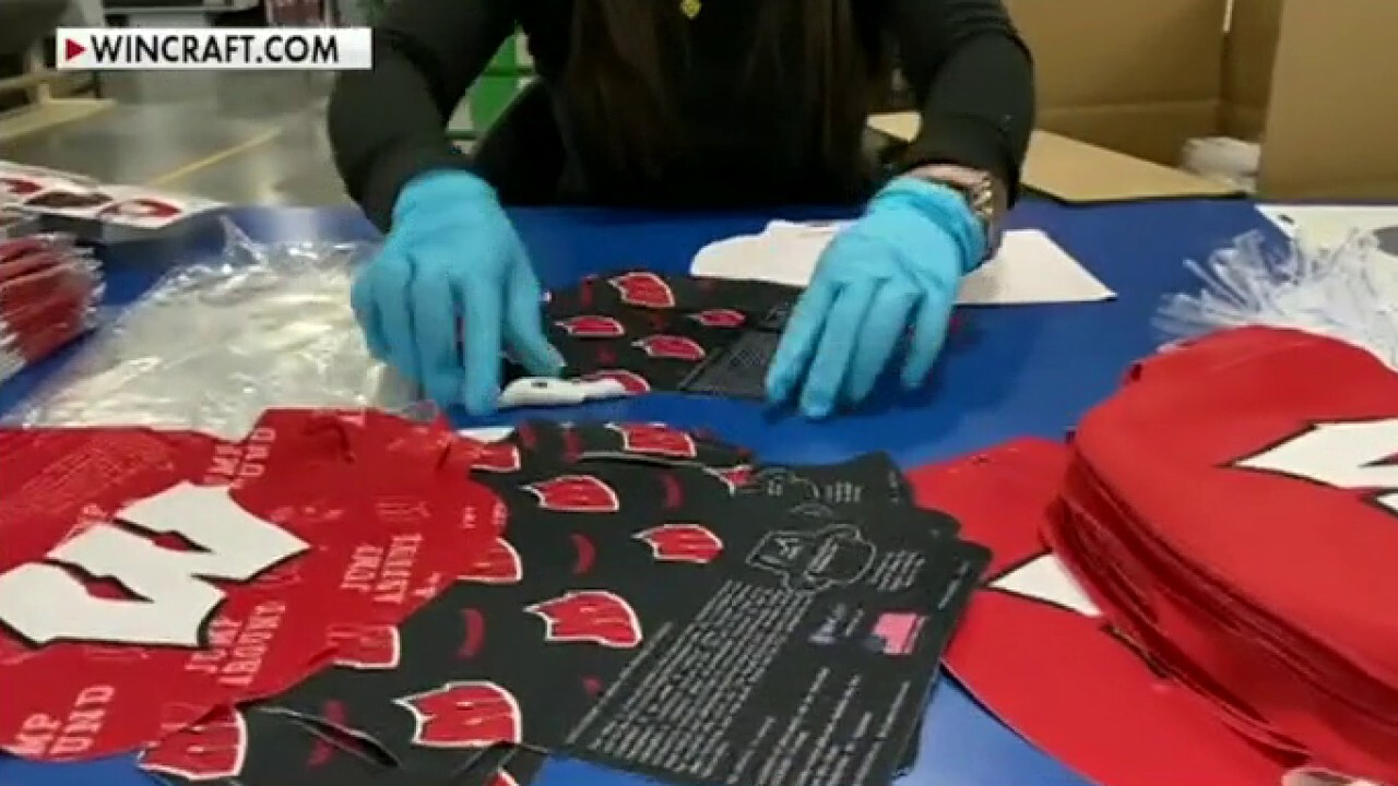 US company making masks for sports fans to stay safe and show team pride