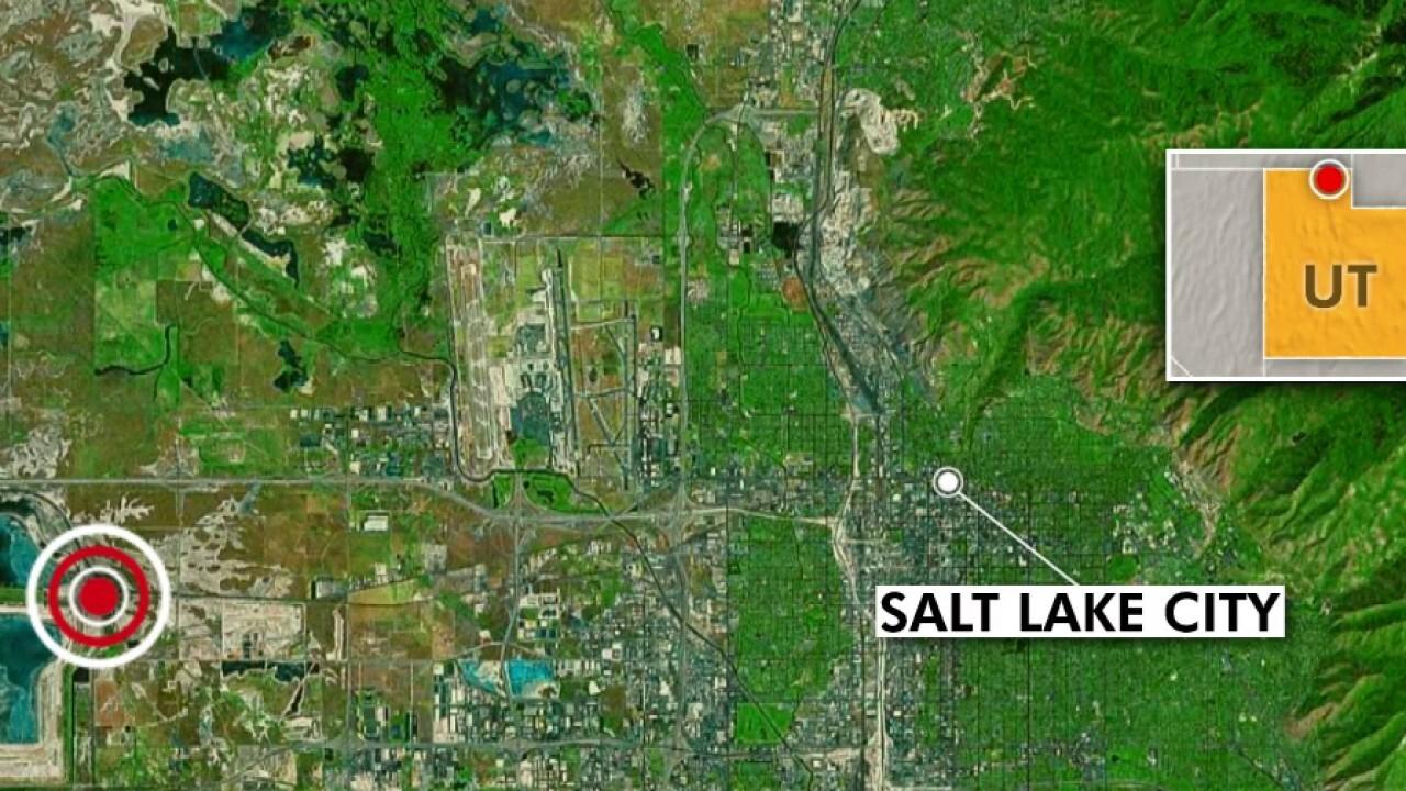 USGS: 5.7 magnitude quake strikes Utah