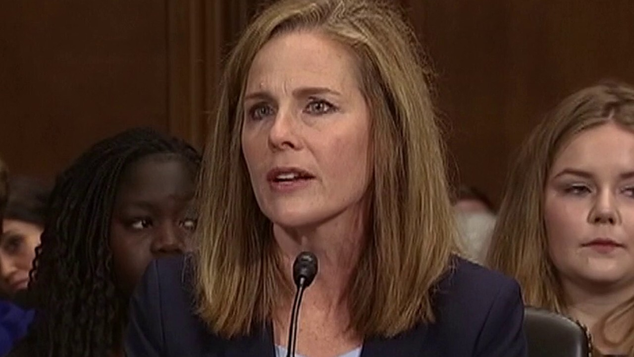 Westlake Legal Group image Rep. Mike Johnson: Trump and the Court -- Amy Coney Barrett has the qualities we need and deserve in a justice Rep. Mike Johnson fox-news/politics/judiciary/supreme-court fox-news/politics/executive/white-house fox-news/person/ruth-bader-ginsburg fox-news/opinion fox news fnc/opinion fnc article 3d8ec80d-c6bb-51c0-9aac-c9689409834f