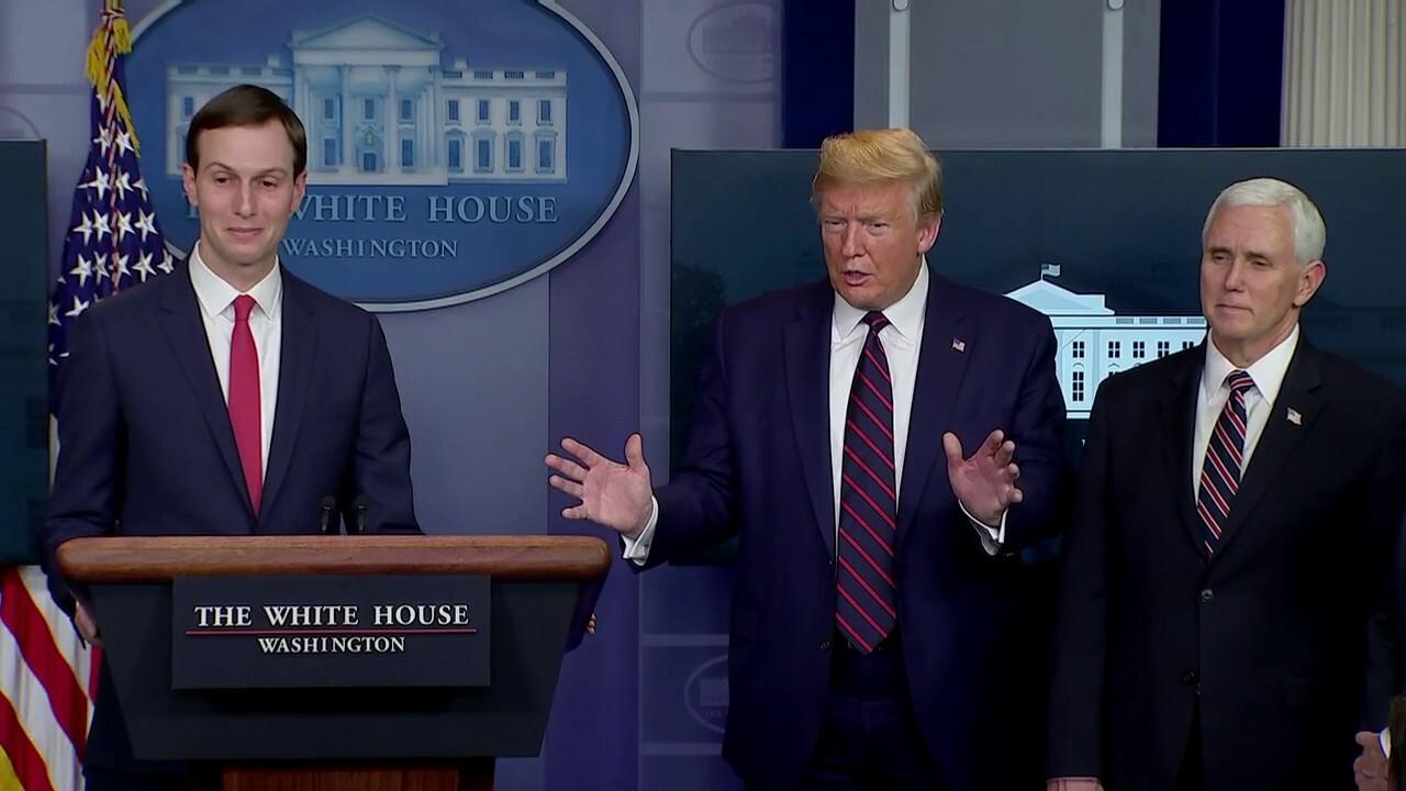 Jared Kushner denies claim he runs 'shadow task force'