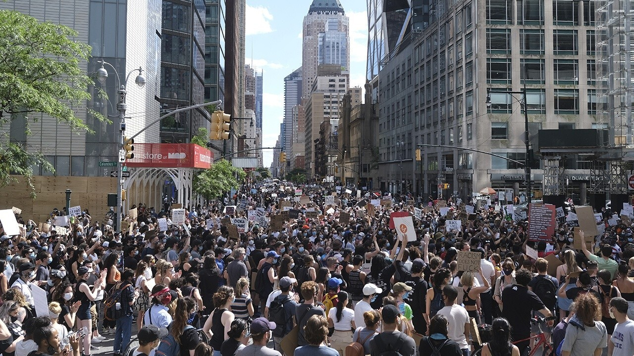 Hundreds of weekend protests across US remain mostly peaceful