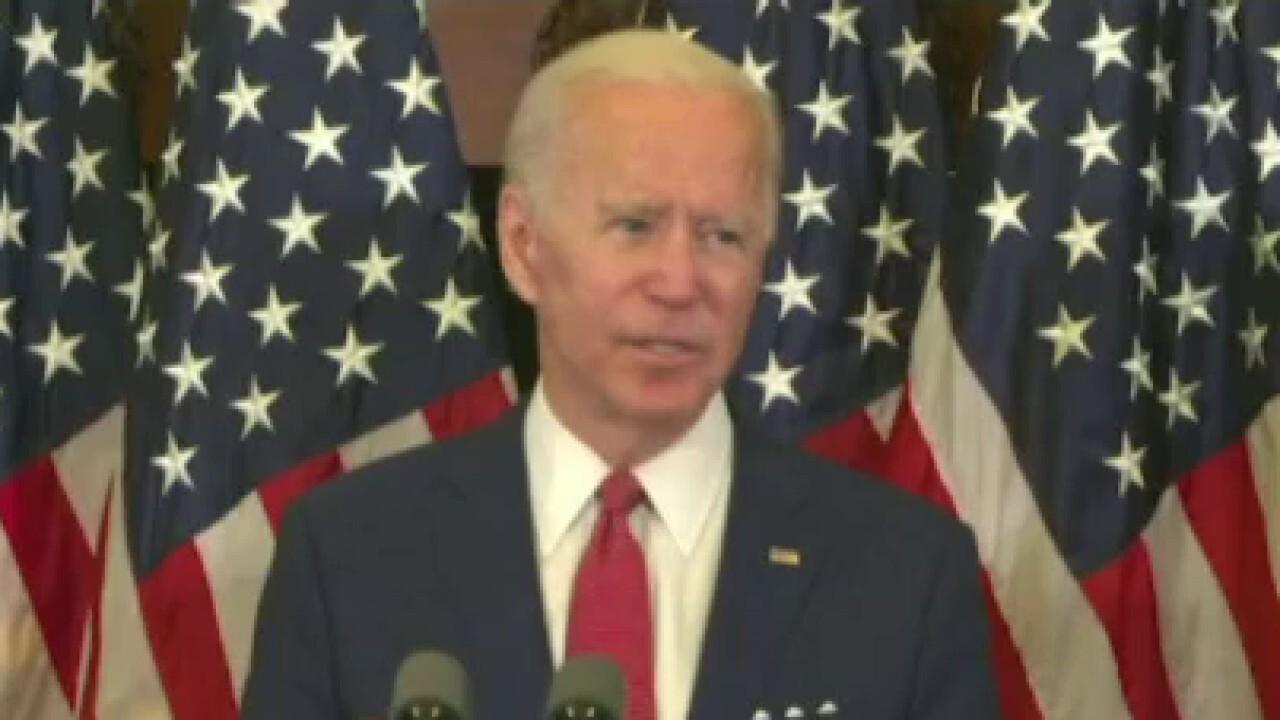 Joe Biden clinches Democratic presidential nomination