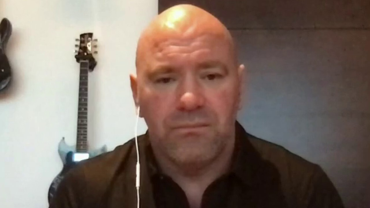 UFC president Dana White expresses his frustration with the mainstream media for reportedly trying to sabotage his events.