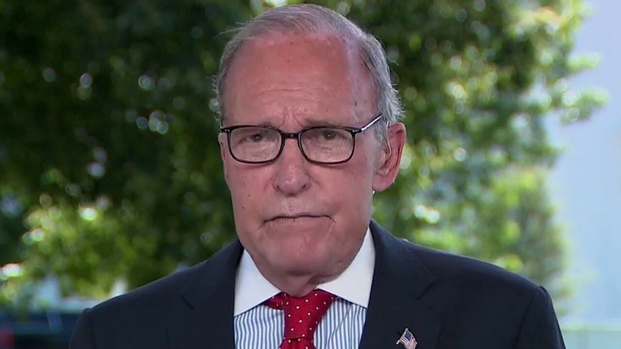 Kudlow: I don't see an interruption to v-shaped economic recovery