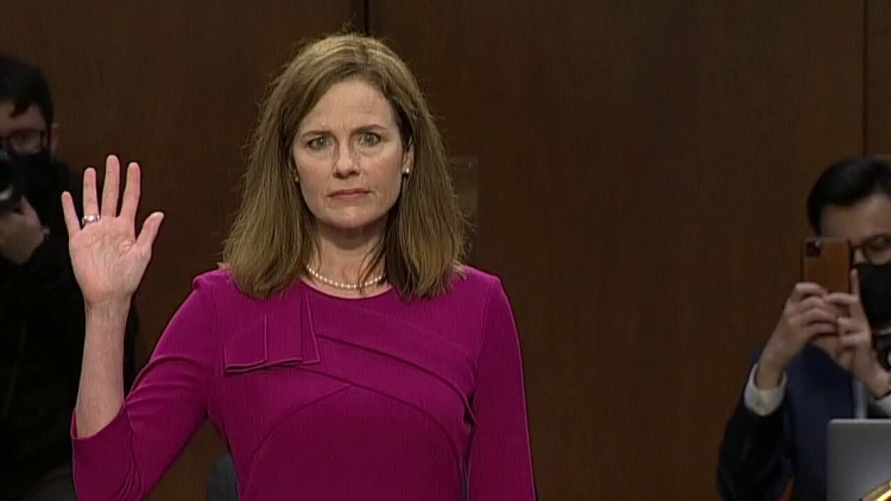 8 key moments of Amy Coney Barrett's first day of confirmation hearings