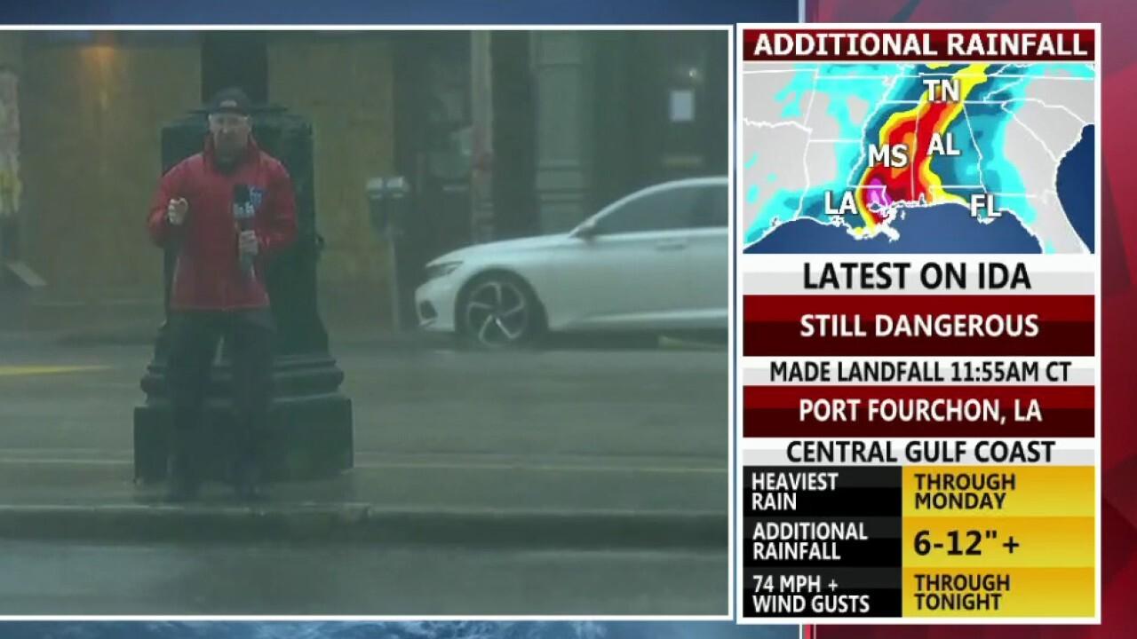 Hurricane Ida slams southeastern US