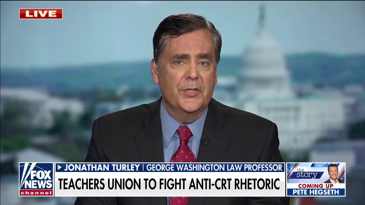 Jonathan Turley: Objections to Critical Race Theory could 'end up in court'
