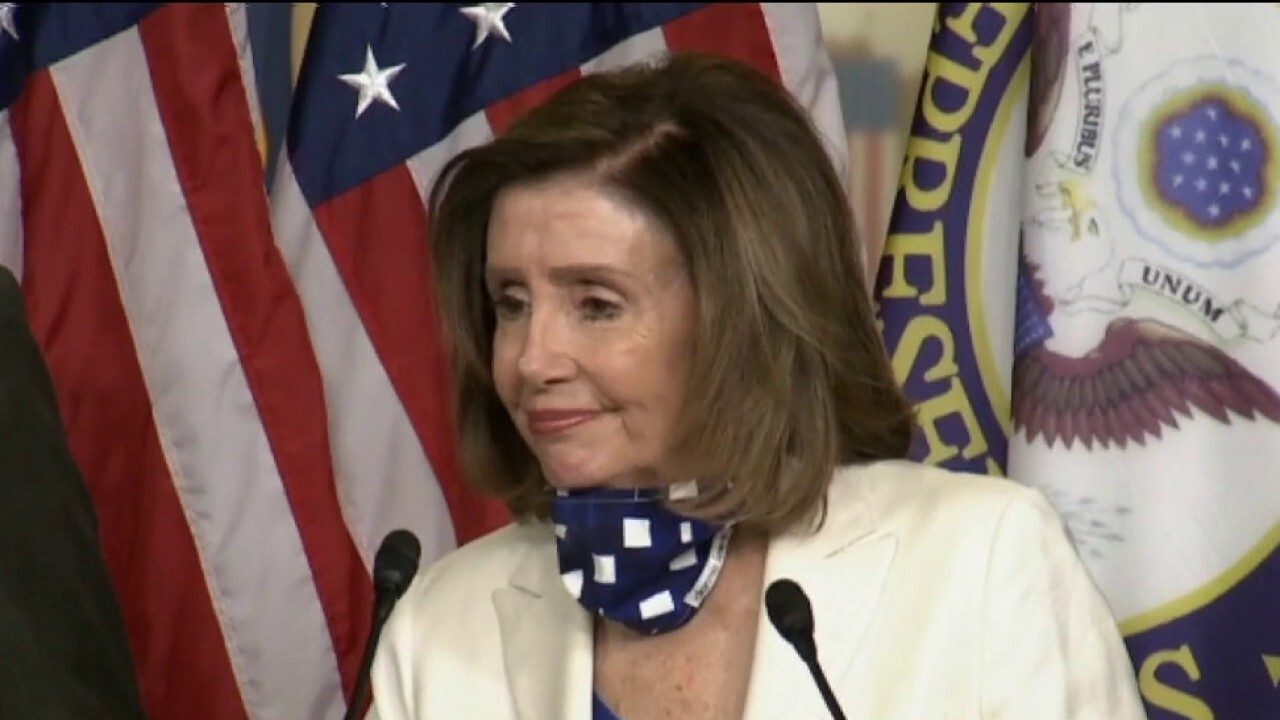 Pelosi vows to keep minimum wage provision in House bill; Harris could act