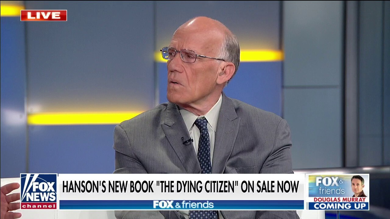 Victor Davis Hanson breaks down the impact of far-left elites on America in new book 'The Dying Citizen'