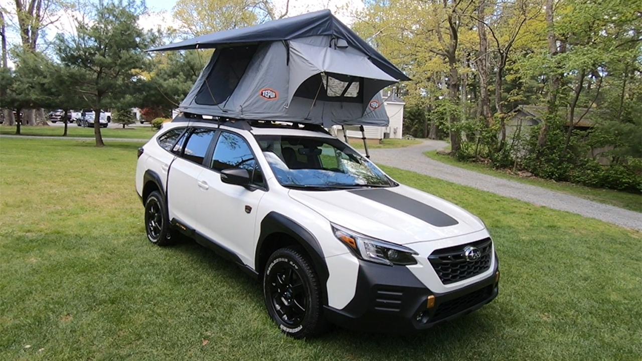 2021 Subaru Outback Wilderness test drive