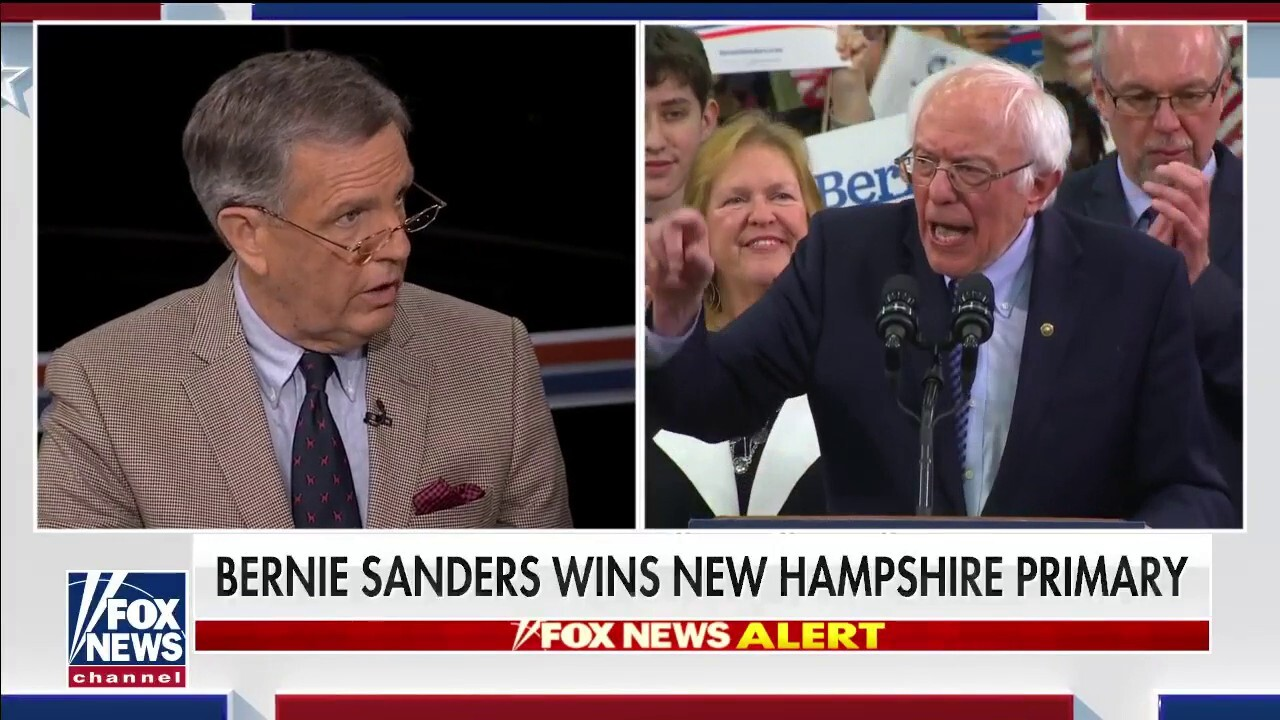Brit Hume: Not a great night for Sanders despite New Hampshire victory