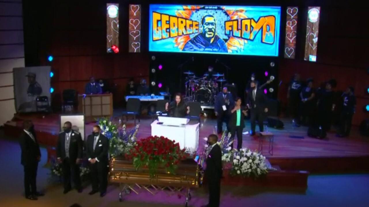 George Floyd honored at memorials in Minneapolis and Brooklyn