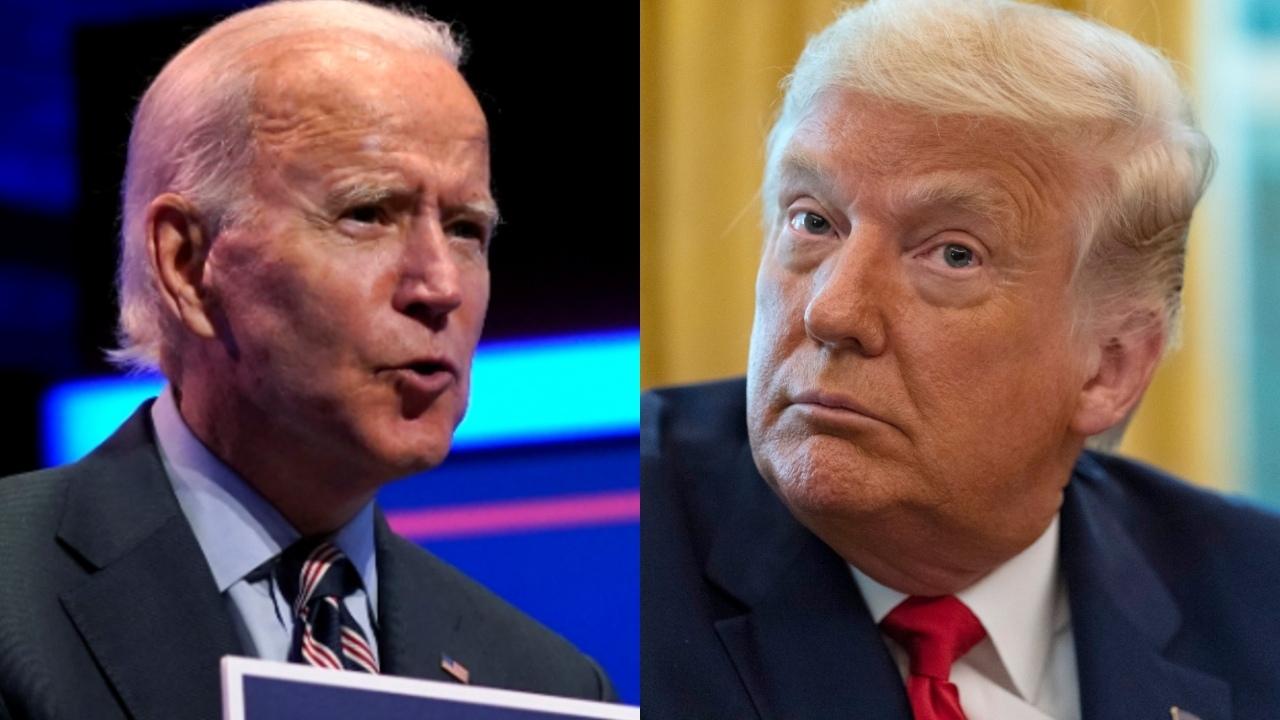 Trump and Biden keep focus on battleground states