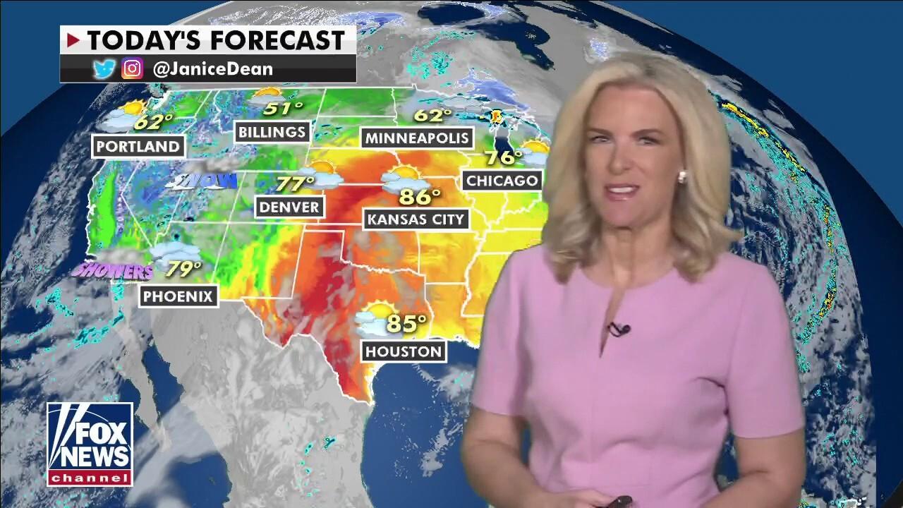 National weather forecast, April 26