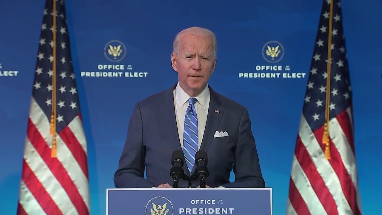 Biden unveils $  1.9T COVID-19 relief package with $  1,400 checks