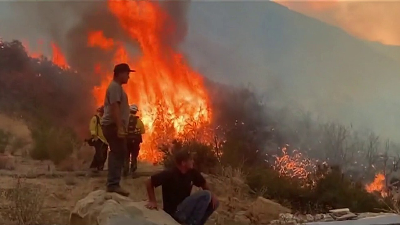 El Dorado fire grows from several hundred acres to nearly 13K overnight