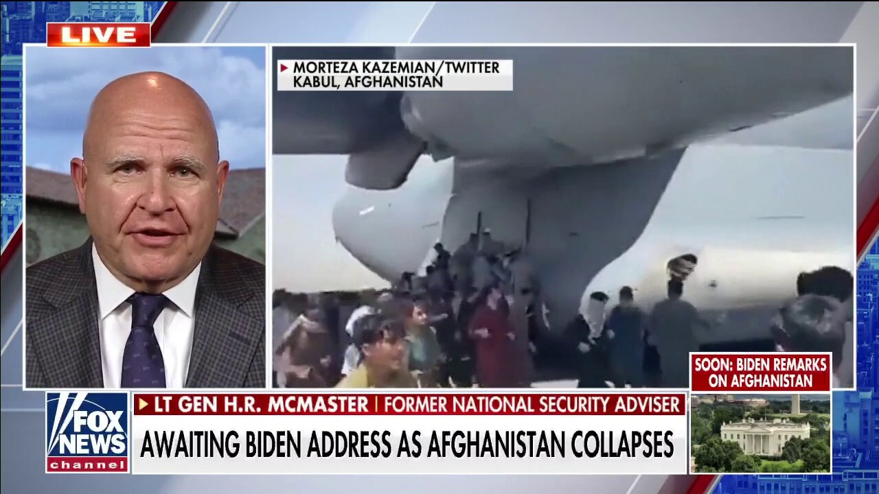 H.R. McMaster calls Taliban takeover of Afghanistan 'heartbreaking and frustrating'