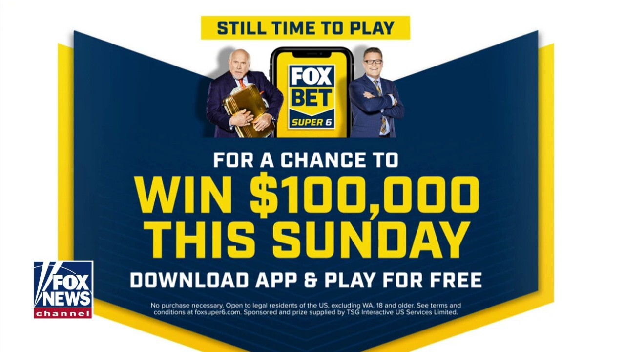 Fox Bet Super 6 is giving away $100K