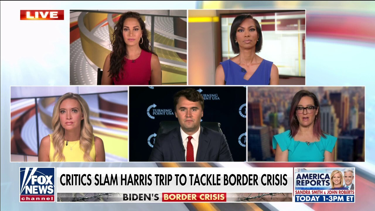 VP Harris gave 'bizarre answer' to Lester Holt on not visiting the border: Charlie Kirk
