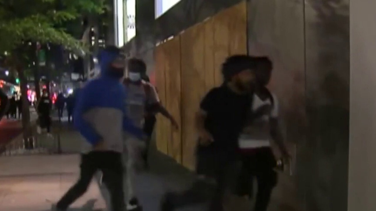 NYC moves up curfew to 8 p.m. ET after rioters wreak havoc on Manhattan