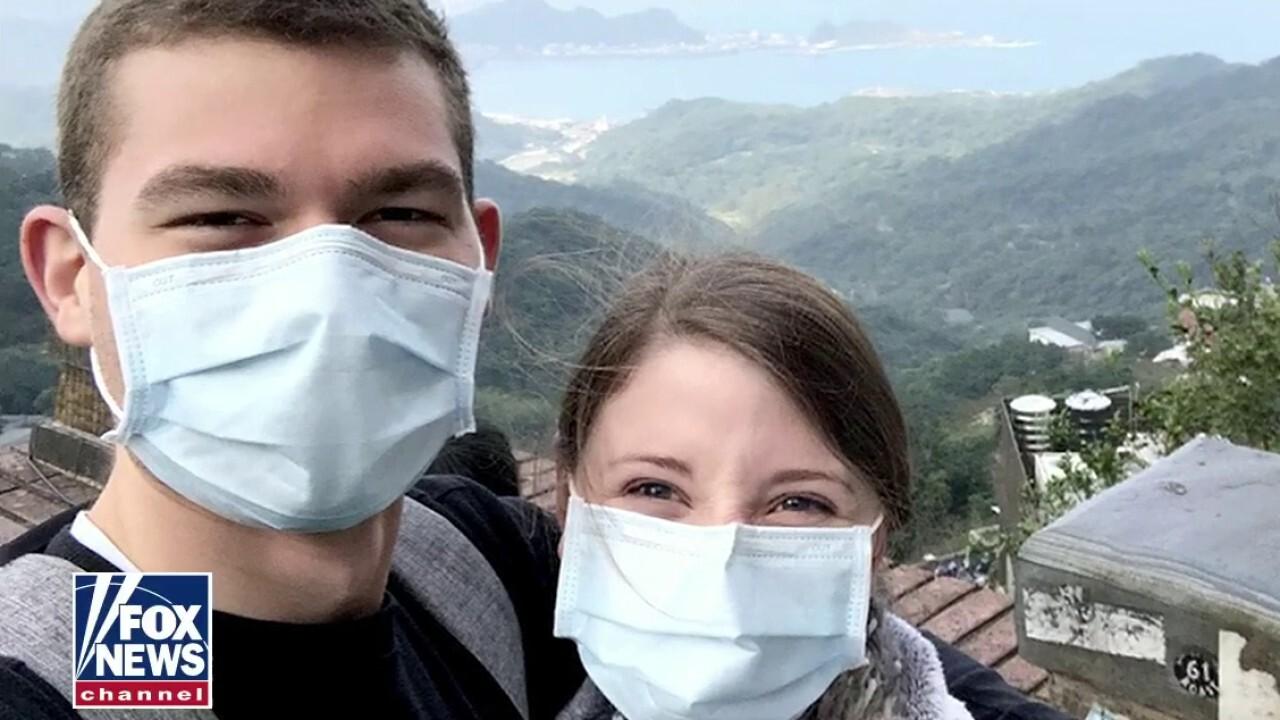 Newlyweds prepare to return home after month in coronavirus quarantine