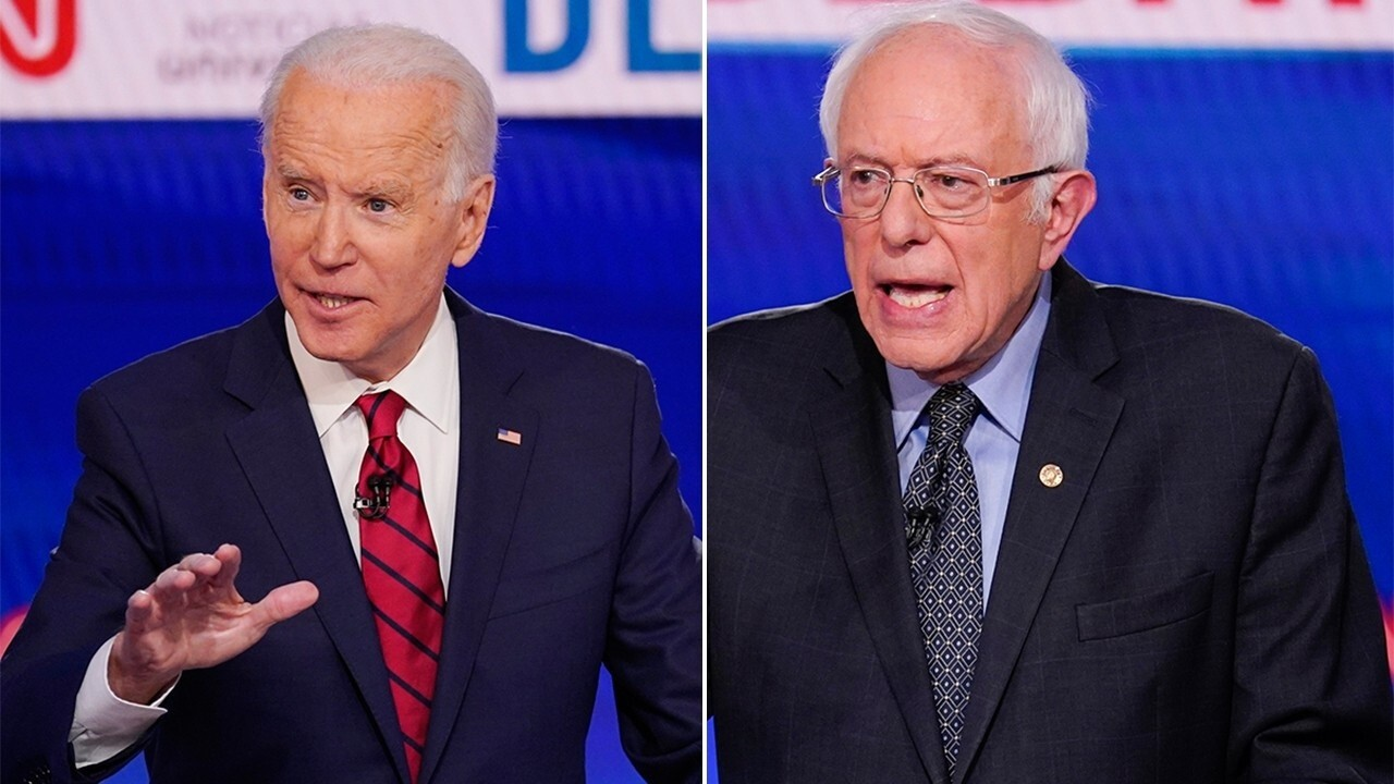 Sanders, Biden attack Trump's coronavirus response but offer different solutions