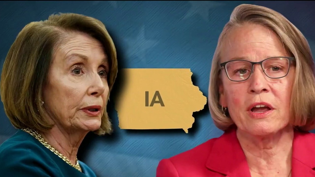 David Bossie: Pelosi and Dems have a new target in their quest for election control – Iowa Rep. Miller-Meeks