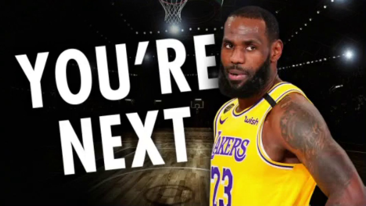 LeBron James tweets photo of officer in MaKhia Bryant shooting with caption 'You're Next'