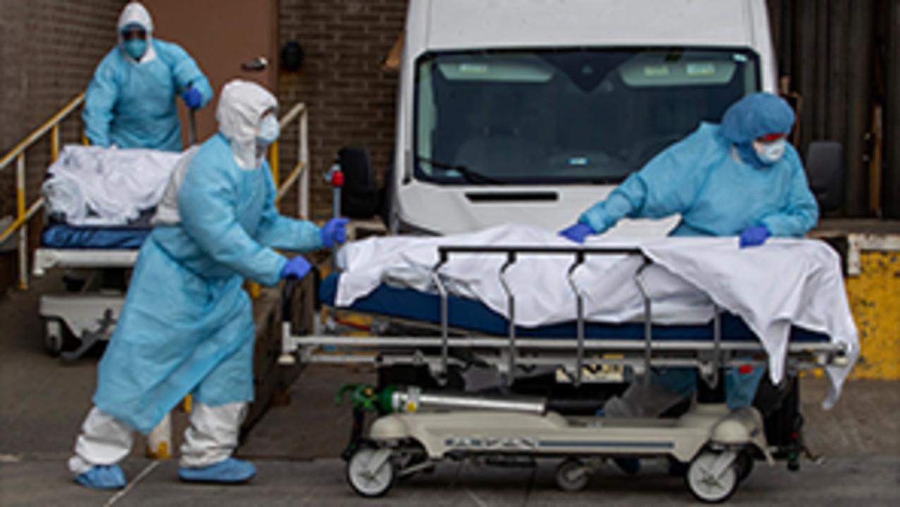 US death toll, unemployment figures soar amid coronavirus crisis