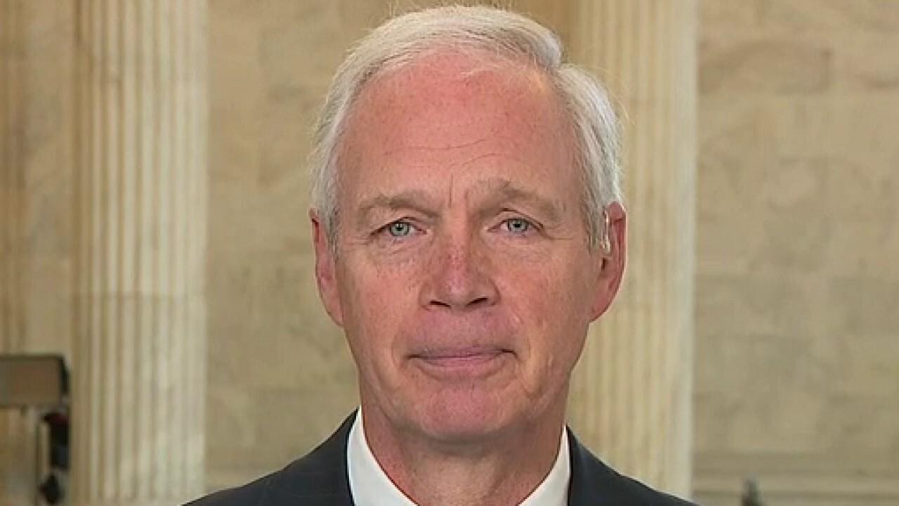 Joe Biden 'has been caught in repeated lies over Biden Inc.': Sen. Johnson