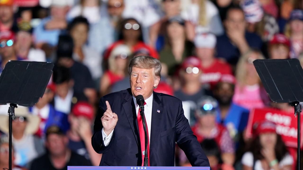 Trump says media miss him