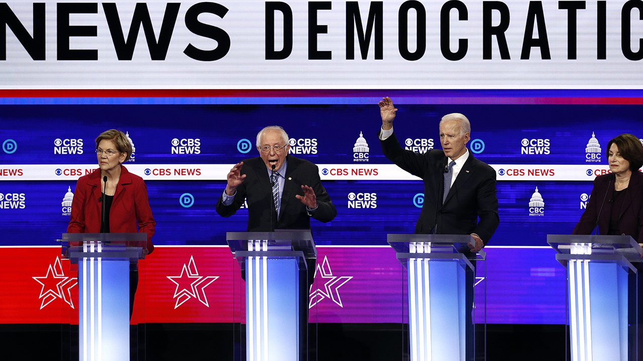 Trump taunts Dems after chaotic debate performance, pleads 'give me an opponent!'