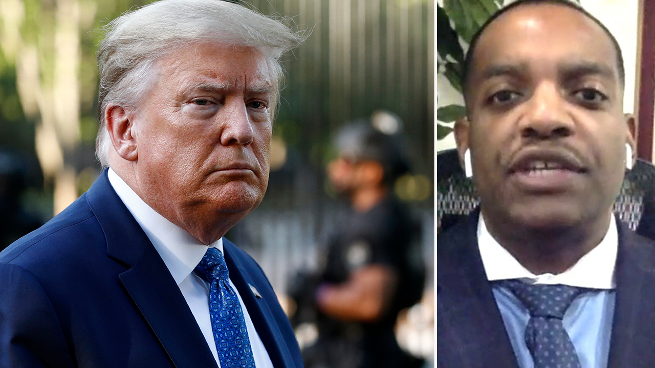 Trumps vows to mobilize federal resources to end riots