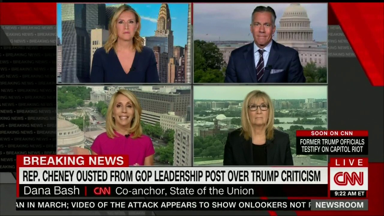 CNN panel worries about collapse of 'democratic principles' after Cheney ouster