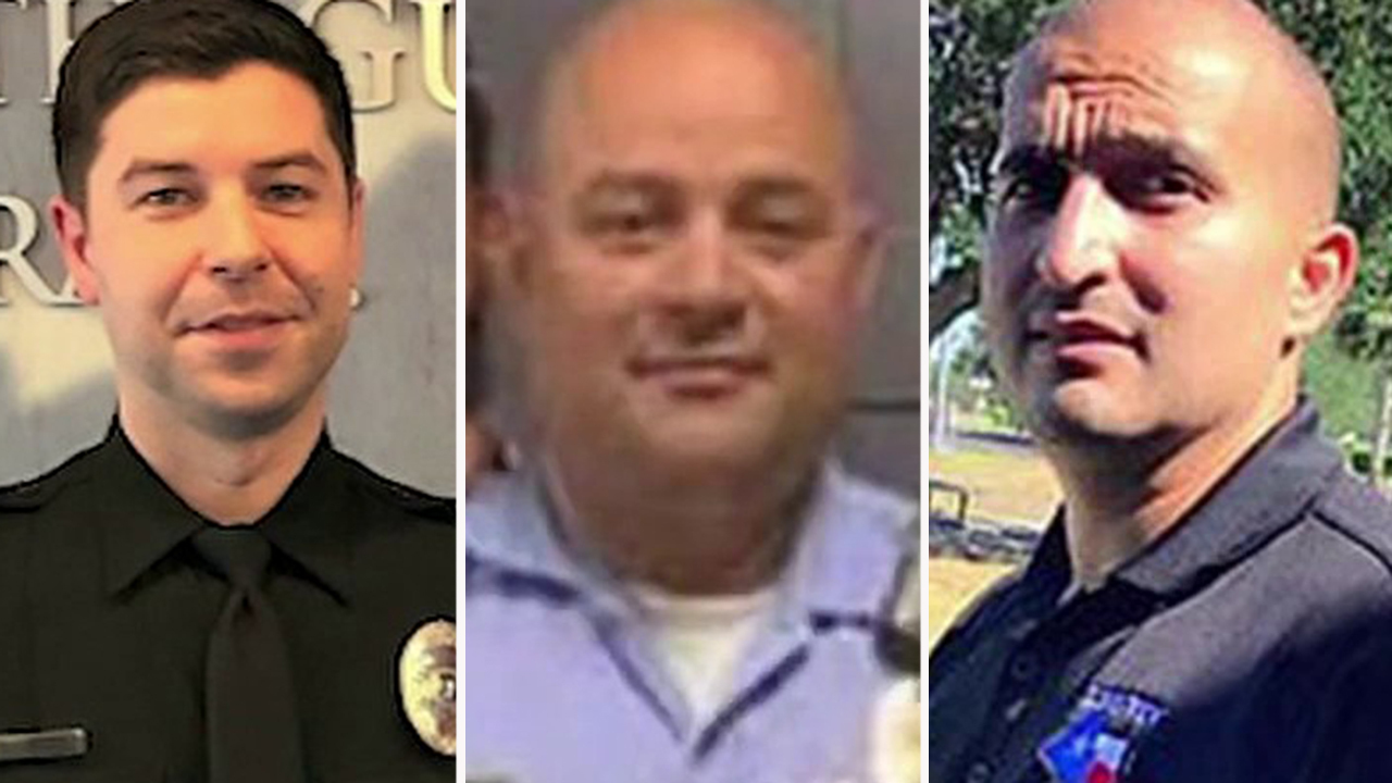 Washington police officer shot and killed after two Texas cops murdered in ambush-style attack