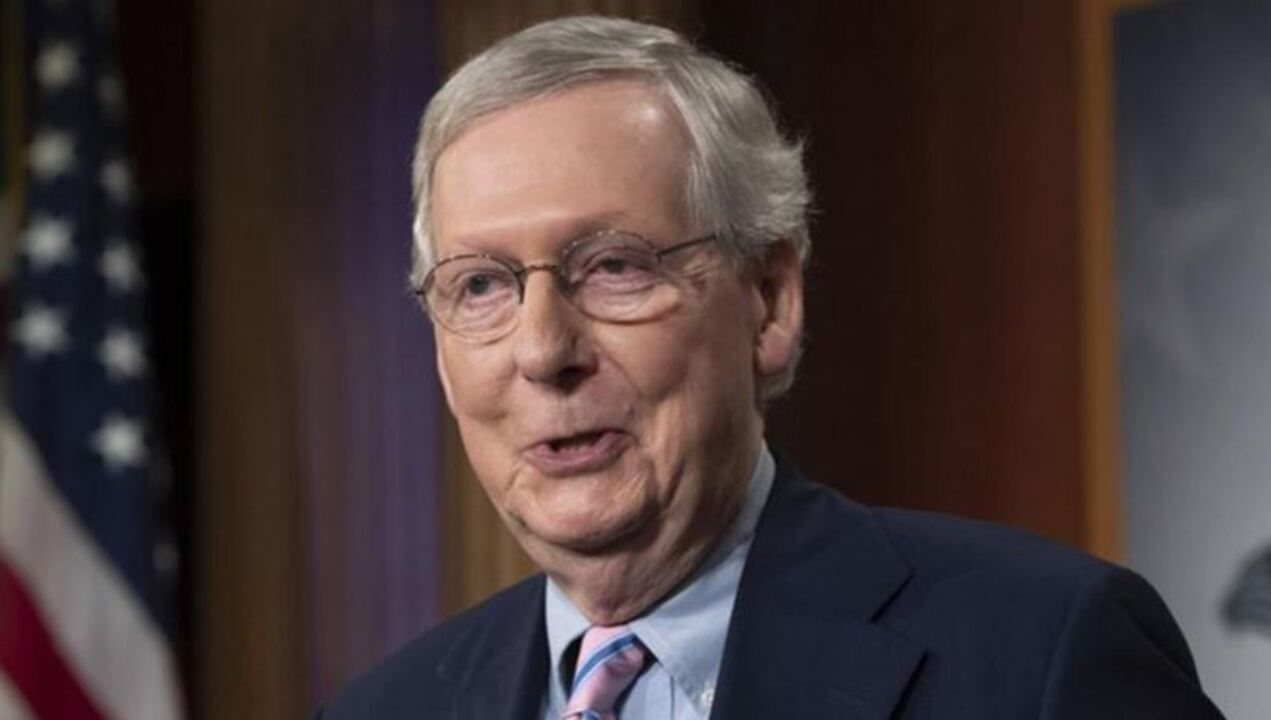 Leader McConnell: Not interested in bailing out states for bad decisions unrelated to coronavirus