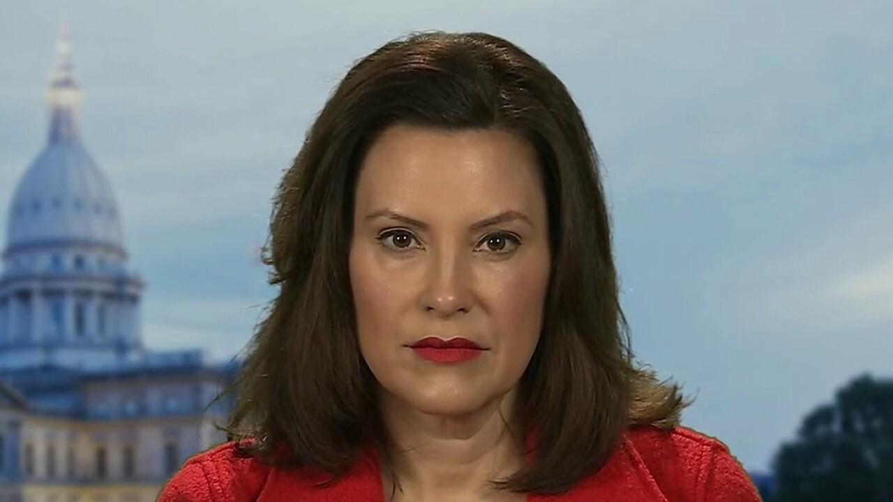 Michigan Whitmer sagt, dass fehlende nationale Strategie geschaffen hat 'porös-situation