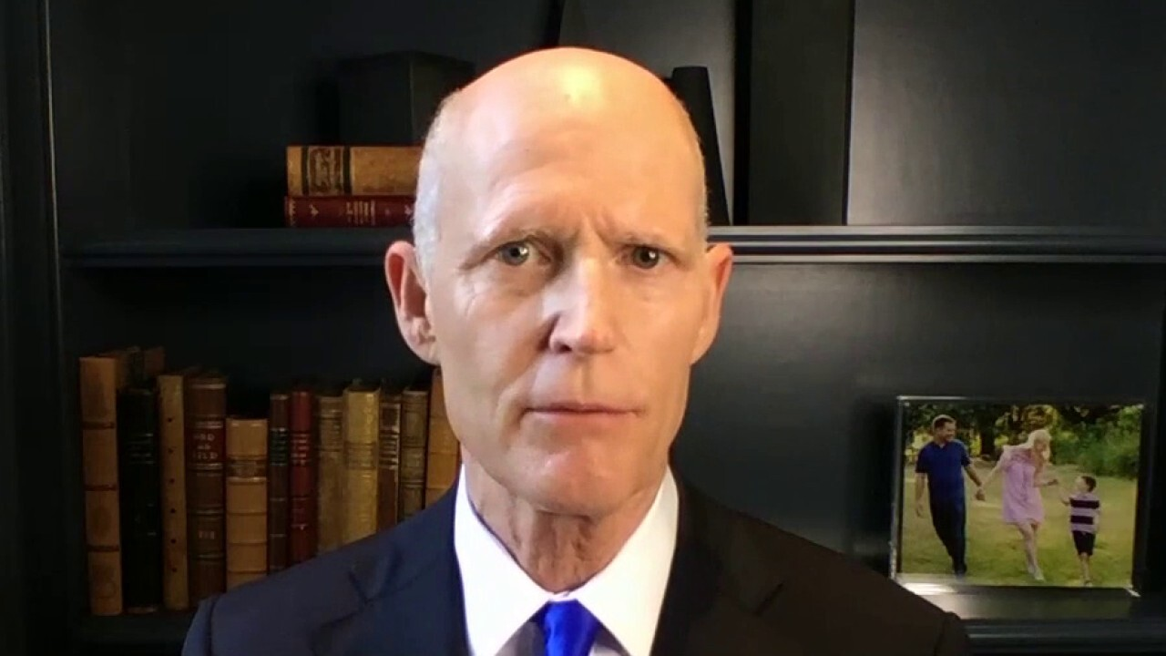 Sen. Scott on COVID-19 surge in Florida: We can beat this without the government taking away our rights