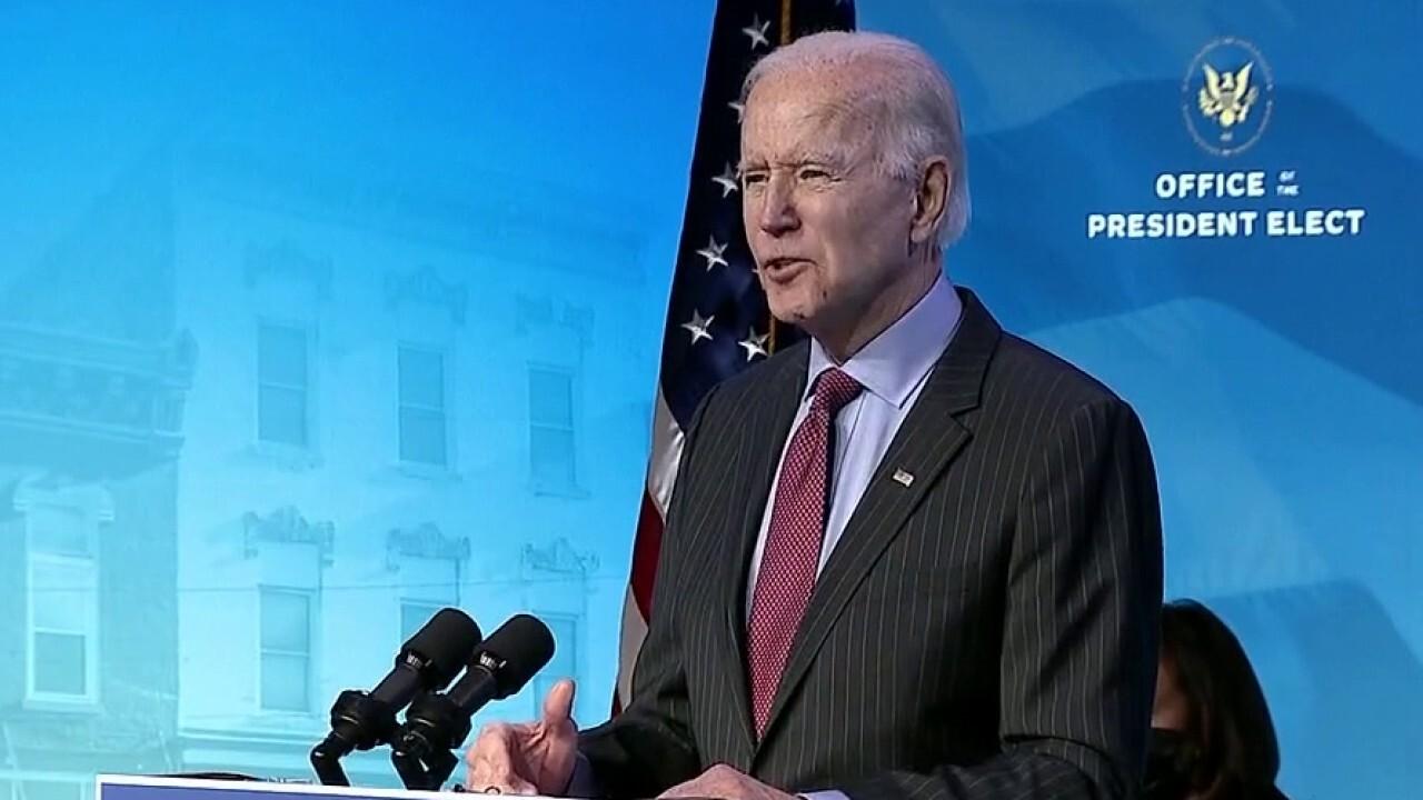 Biden introduces economic team, vows more pandemic relief
