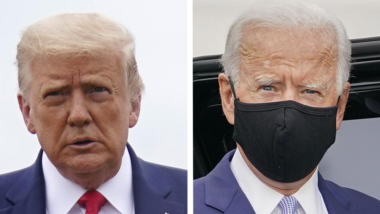 President Trump and Joe Biden visit swing states
