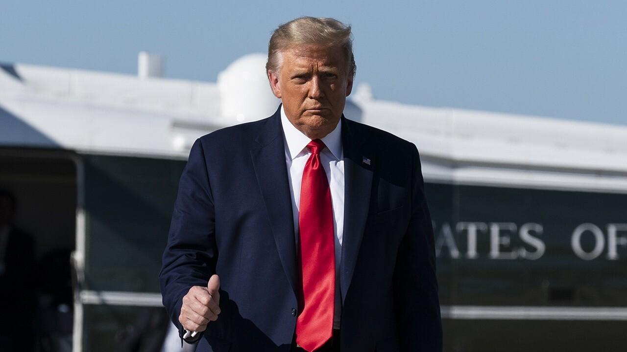 Trump battles media verdict