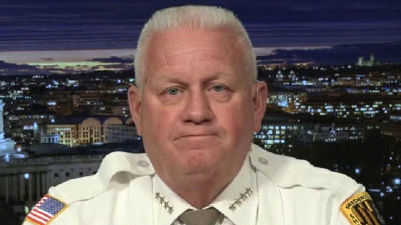 Maryland sheriff:  Americans should be 'outraged' at Biden for immigration actions