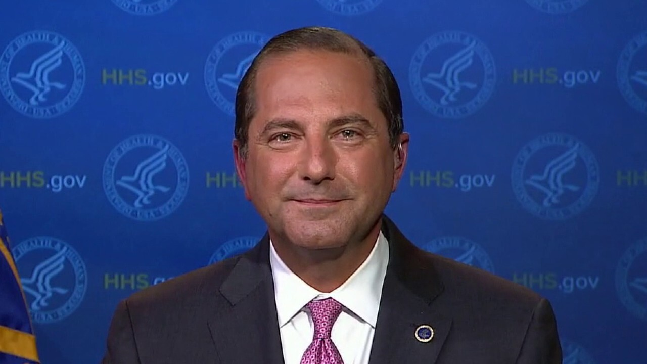 Secretary Azar on religious exemption for contraception coverage, surge in COVID cases, push to reopen schools