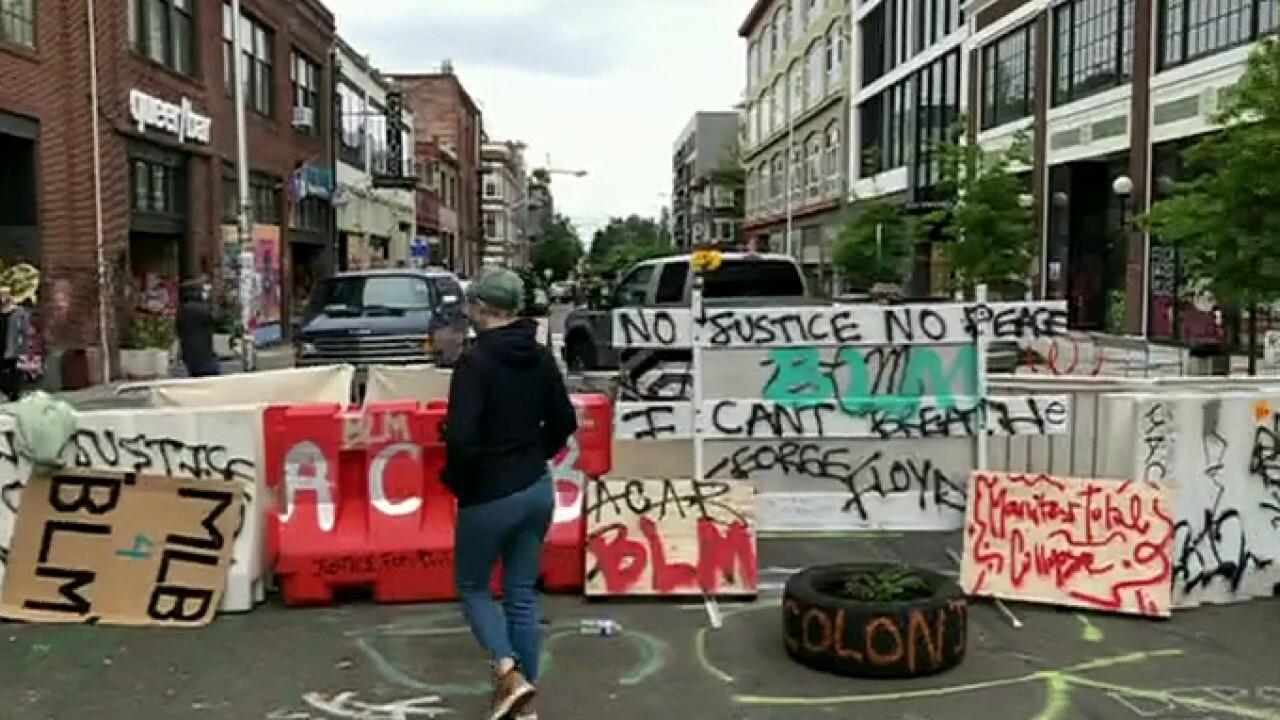 Seattle leaders split on autonomous zone