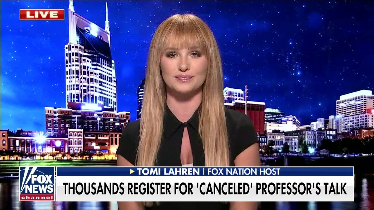 Tomi Lahren torches 'cancel culture mob': 'There is hope for the younger generation'