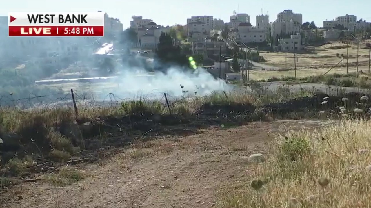 Violence erupts in the West Bank