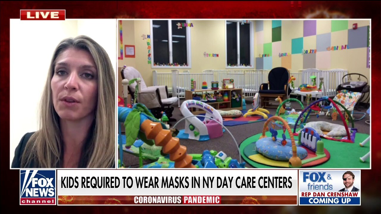 NY day care director fears for business as governor mandates masks for children as young as two
