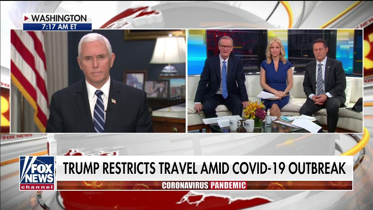 VP Pence on travel ban: The epicenter of coronavirus shifted